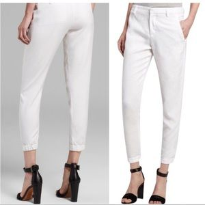 Vince tapered crop pant sz 8 white